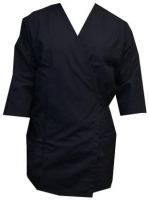 Shoe Polishing Wraparound Smock Small - NAVY