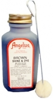 Angelus Shine and Dye Brown 3oz
