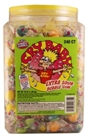 Cry Baby Extra Sour Bubble Gum 240 count