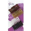 Goody Hair Claw Clip Medium Size 4 count
