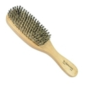 Scalpmaster Reinforced Boar Bristle Brush Wood Han