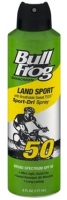 Bullfrog Land Sport SPF 50 Continuous Spray 6 oz.