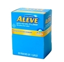 Aleve 50 packets of 1 Tablet