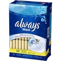 Always Maxi Pad Regular with Wings 216 count