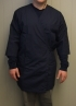 Shoe Polishing Wraparound Smock Large - NAVY