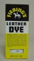 Fiebing Leather Dye Tan 4oz
