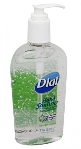 Dial Sanitizer 7.5 oz.