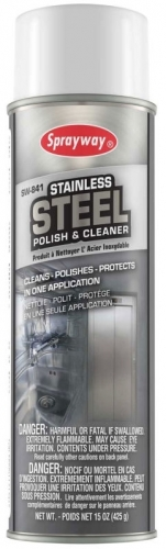 Sprayway Stainless Steel Cleaner & Polisher 15 oz.