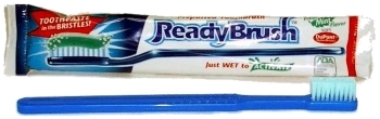 Ready Brush Disposable Toothbrush single