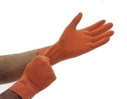 Ammex Orange-Powder-Free Extra Large Gloves 100 count