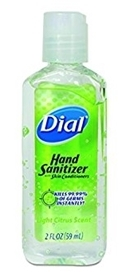 Dial Hand Sanitizer 2 oz.