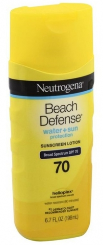 Neutrogena Beach Defense Sunscreen Lotion Broad Spectrum SPF 70 6.7 oz.